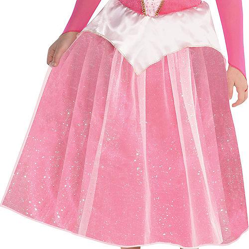 Girls Classic Aurora Costume - Sleeping Beauty Image #3