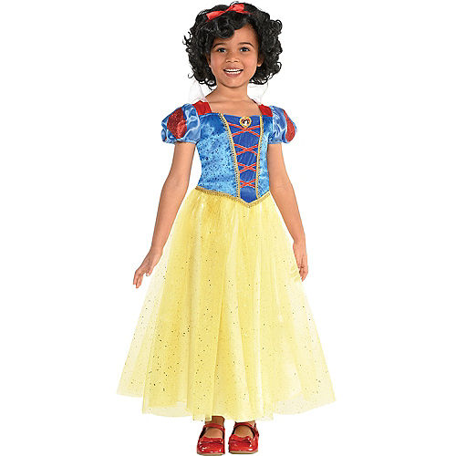 Girls Classic Snow White Costume - Snow White and the Seven Dwarfs Image #1
