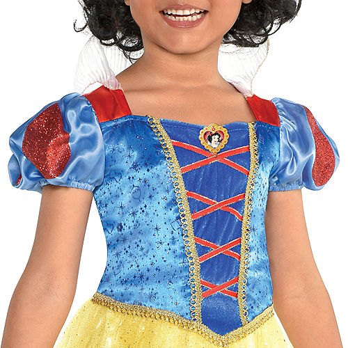Girls Classic Snow White Costume - Snow White and the Seven Dwarfs Image #2