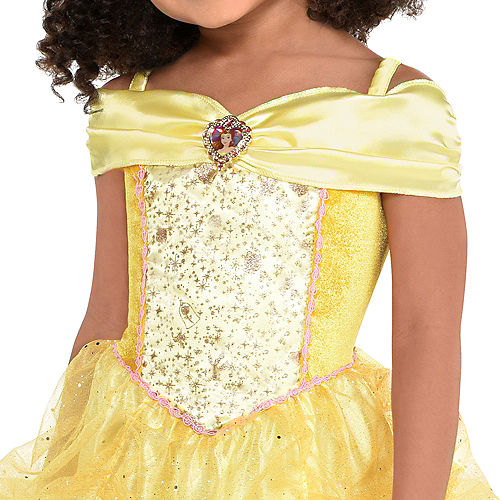 Girls Classic Belle Costume - Beauty and the Beast Image #3
