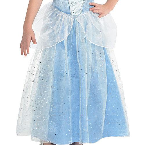 Girls Classic Cinderella Costume - Cinderella Image #3