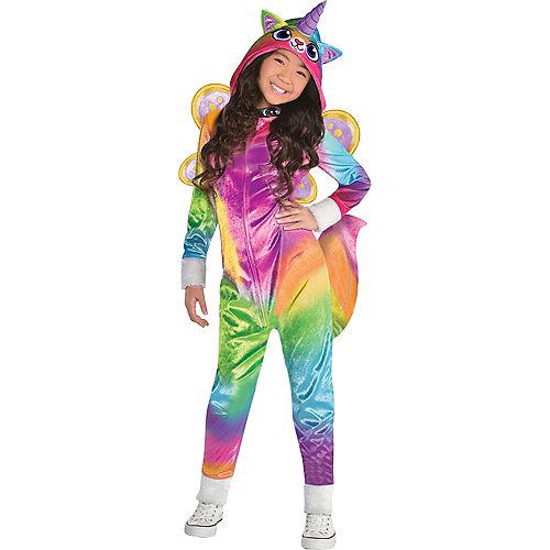 Girls Felicity Costume - Rainbow Kitty Unicorn Image #1