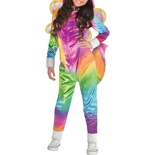 Girls Felicity Costume - Rainbow Kitty Unicorn Image #4