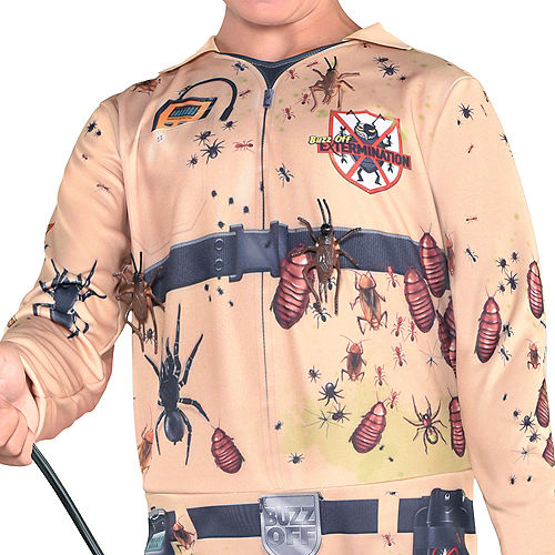 Boys Bugged Out Exterminator Costume Image #3