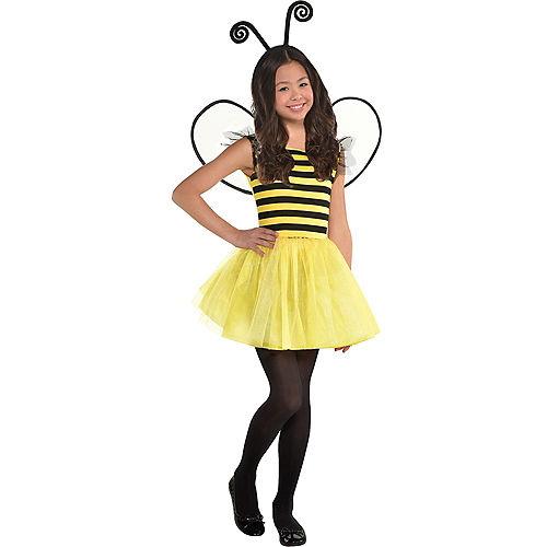 Girls Buzzy Bee Costume Image #1