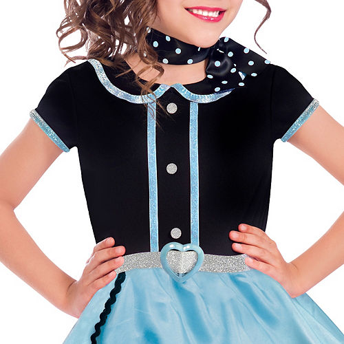 Girls At The Hop Poodle Skirt Costume Image #2