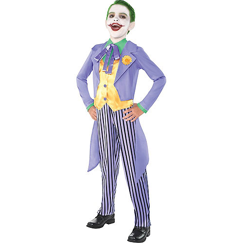Boys Classic Joker Costume - Batman Image #1