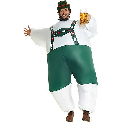 Adult Inflatable Bavarian Oktoberfest Costume Image #1