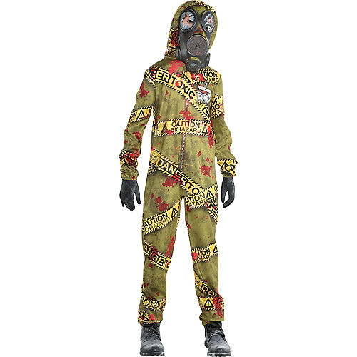 Boys Quarantine Zombie Costume Image #1