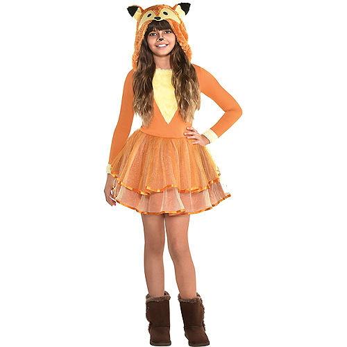 Girls Furry Fox Costume Image #1