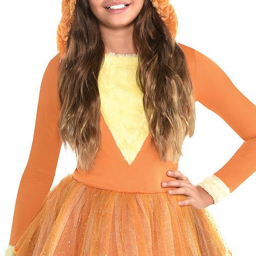 Girls Furry Fox Costume Image #3