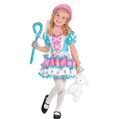 Girls Little Bo Peep Costume Image #1