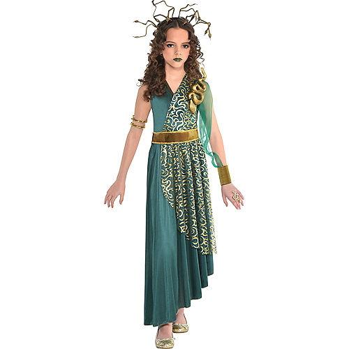 Girls Medusa Costume Image #1
