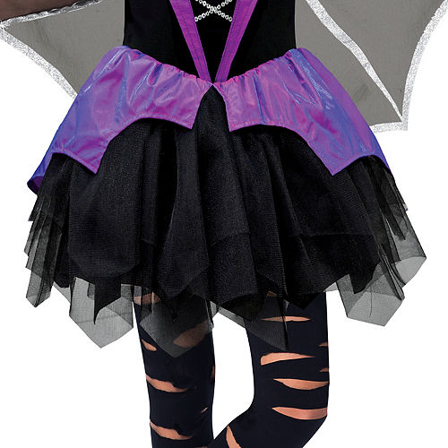 Girls Miss Batiness Vampire Costume Image #4