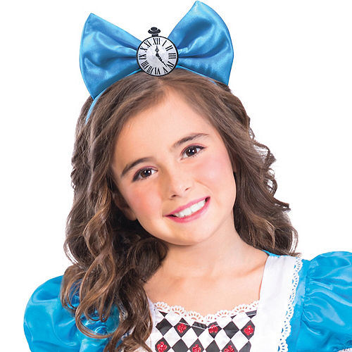 Girls Miss Wonderland Costume Image #2