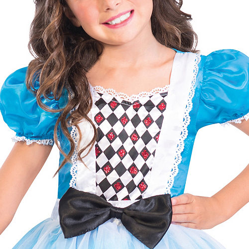 Girls Miss Wonderland Costume Image #3