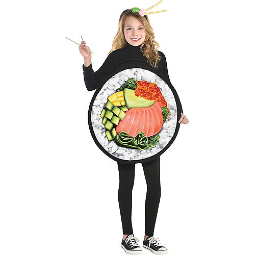 Girls Sushi Costume Image #1