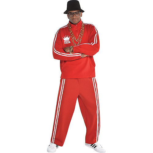 Adult Hip Hop Tracksuit Costume Accessory Kit Image #1