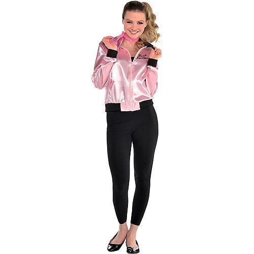 Womens Pink Ladies Jacket - Grease Image #1
