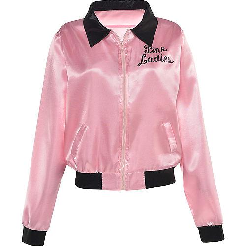 Womens Pink Ladies Jacket - Grease Image #3