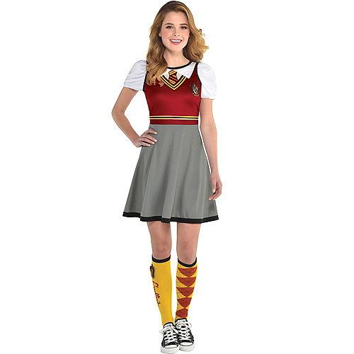 Womens Gryffindor Dress - Harry Potter Image #1