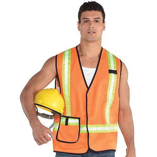 Adult Construction Worker Vest Image #1