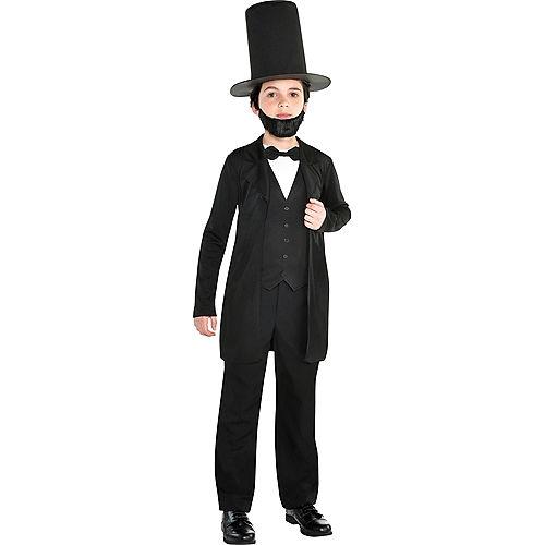 Boys Abraham Lincoln Costume Accessory Kit Image #1