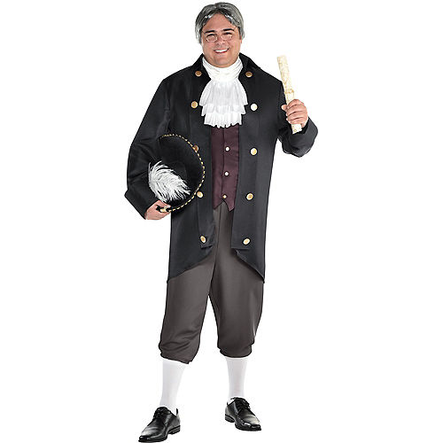 Mens Founding Father Costume Accessory Kit Image #1
