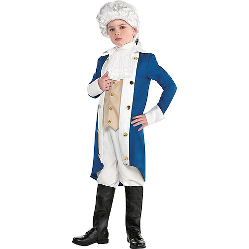 Boys George Washington Costume Accessory Kit Image #1