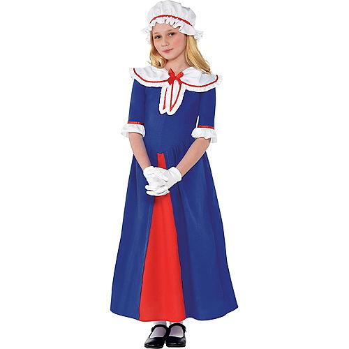 Girls Martha Washington Costume Accessory Kit Image #1