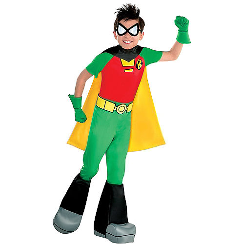 Boys Robin Costume - Teen Titans Go! Image #1
