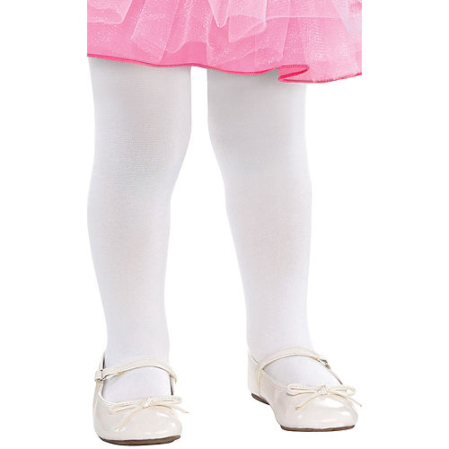 Baby White Tights Image #1