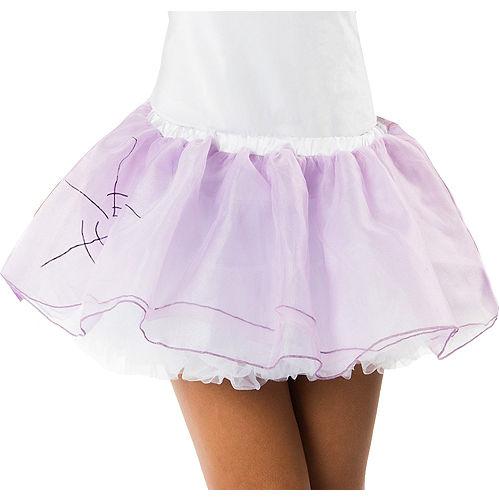 Lavender Broken Doll Tutu for Adults Image #1