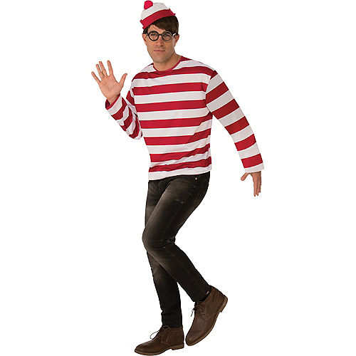 Mens Where's Waldo Costume Image #1