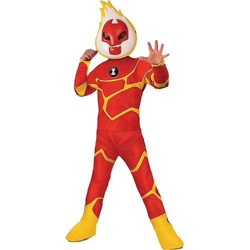 Boys Heatblast Costume - Ben 10 Image #1