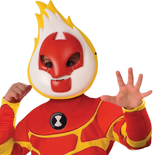 Boys Heatblast Costume - Ben 10 Image #2
