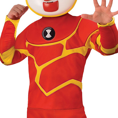 Boys Heatblast Costume - Ben 10 Image #3