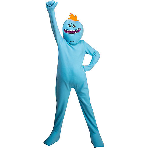 Teen Boys Mr. Meeseeks Costume - Rick and Morty Image #1