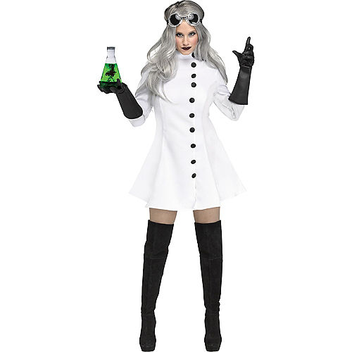 Womens Mad Scientist Costume Image #1
