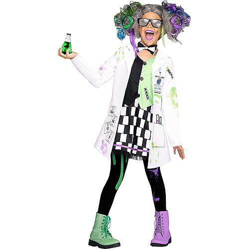 Girls Mad Scientist Costume Image #1