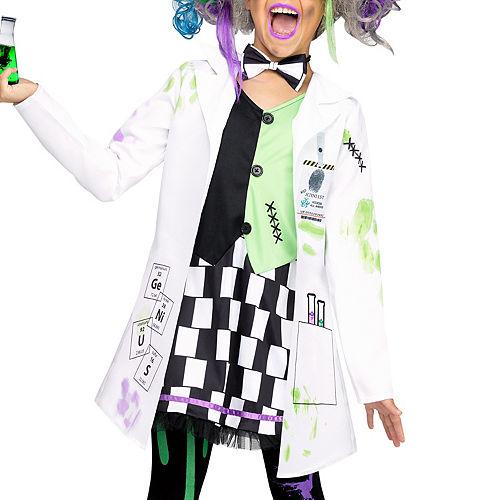Girls Mad Scientist Costume Image #2