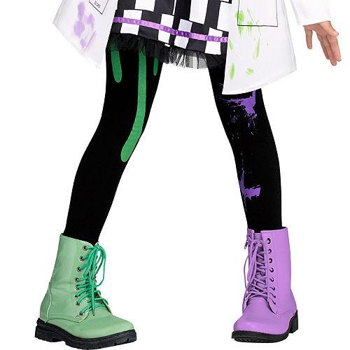 Girls Mad Scientist Costume Image #4