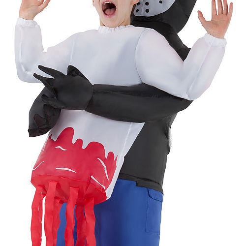 Child Inflatable Serial Killer Pick-Me-Up Costume Image #2