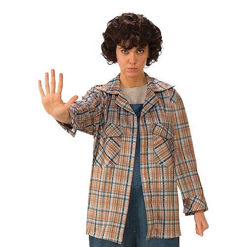 Adult Eleven Plaid Shirt - Stranger Things Image #1
