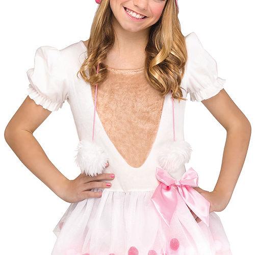 Girls Lovely Llama Costume Image #3