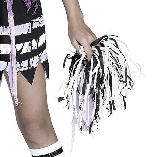 Girls Zombie Fearleader Costume Image #4