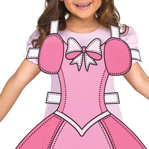 Girls Paper Doll Costume Image #3