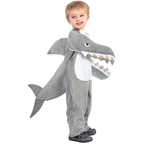Child Chompin' Shark Costume Image #1