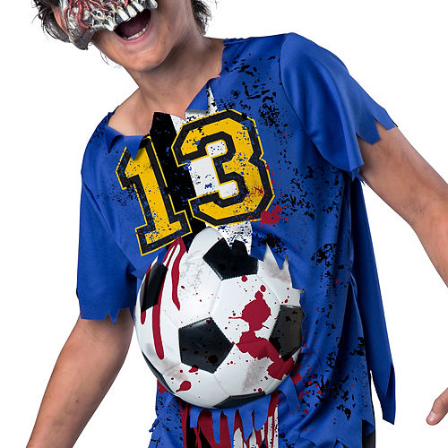 Boys Soccer Player Zombie Costume Image #3