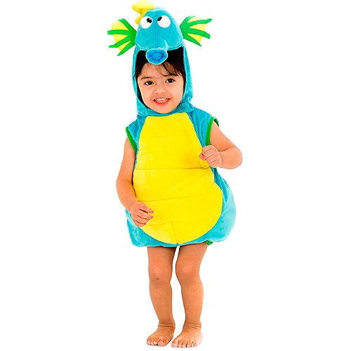 Baby Blue Seahorse Costume Image #1